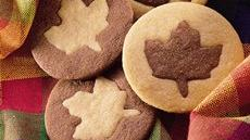 Two-Tone Leaf Cookies Recipe
