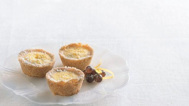 Tiny Lemon Gem Tarts