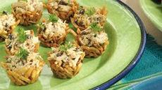 Crispy Curried Chicken Salad Nests Recipe