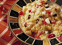 Mediterranean Couscous and Beans