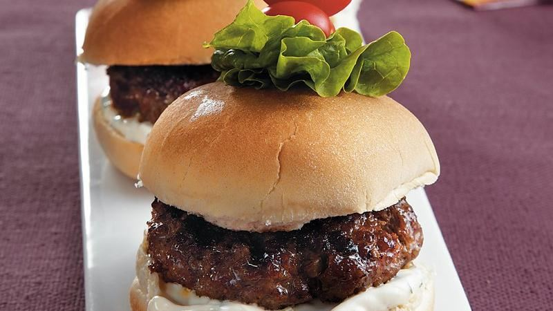 Sizzling Beef Sliders