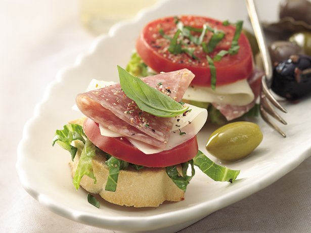 Genoa Salami Stacks