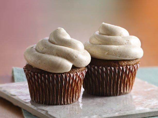 Cupcakes de pan de jengibre