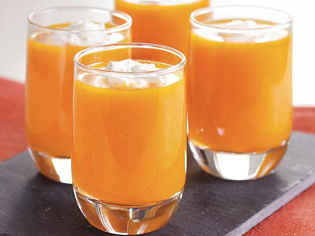 Carrot Soup Shots