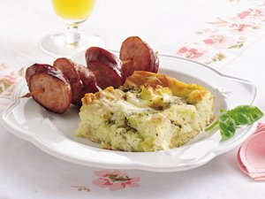 Basil&#32;Breakfast&#32;Strata
