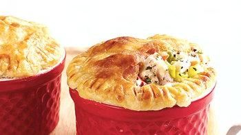 Mini Chicken and Veggie Pot Pies