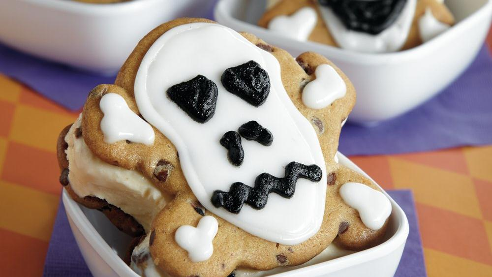 Ice Cream Skullwiches