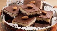 Almond Macaroon Brownies Recipe