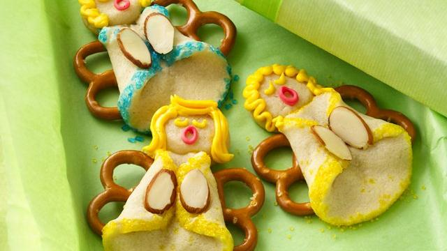 Image of Almond Angel Cookies, Pillsbury