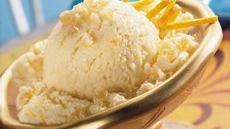 Ginger-Peach Ice Cream Dessert Recipe