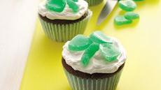 Shamrock Mint Cupcakes Recipe
