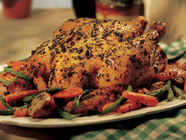 roasted vegetables oven roasted vegetables herb roasted chicken ...