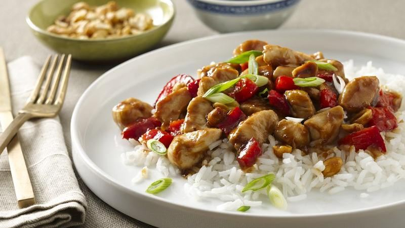 Spicy Peanut Chicken recipe from Betty Crocker