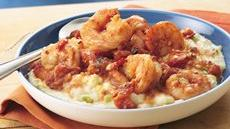 Smoky Shrimp with Creamy Grits Recipe