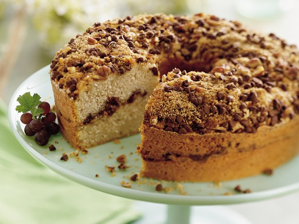 Mocha Streusel Coffee Cake