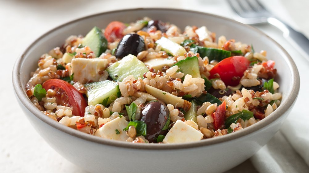 Mediterranean Grain Salad recipe from Pillsbury.com