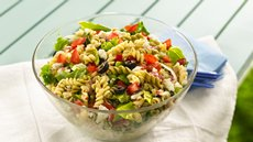 Greek Tossed Pasta Salad Recipe