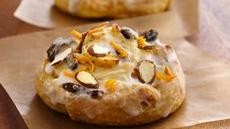 Orange-Cherry-Almond Pinwheels Recipe
