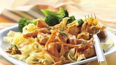 Chicken and Noodles Paprika