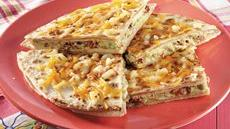 Smoked Turkey Quesadillas Recipe