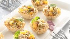 Curried Chicken Salad Cups Recipe