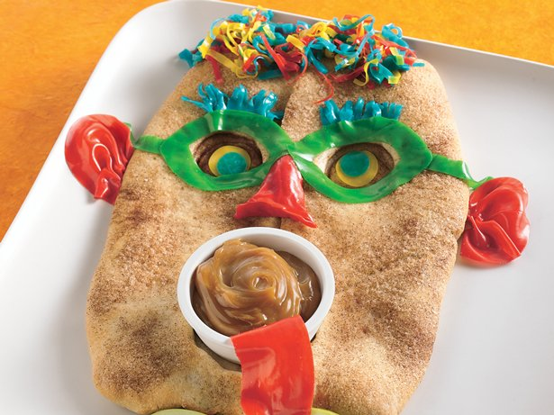 Halloween Mask Bread