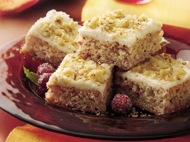 Cranberry Bars