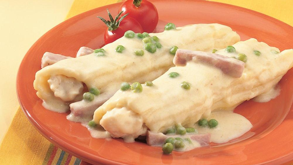 Easy Chicken Manicotti