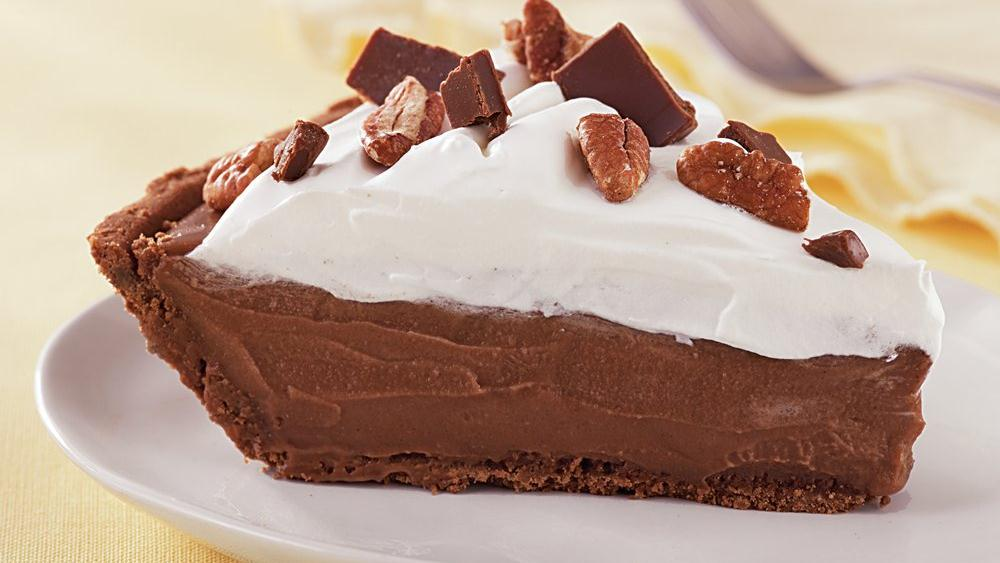 Chocolate Icebox Pie recipe from Pillsbury.com