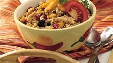 Black Beans, Chicken and Rice Recipe