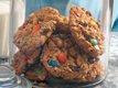 Wheat-Free Monster Cookies