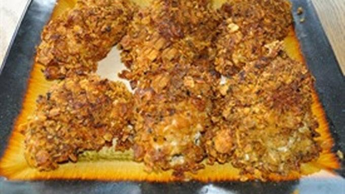 Crunchy Baked Chicken Breasts recipe - from Tablespoon!