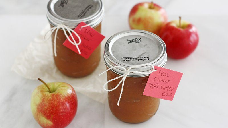 Slow-Cooker Apple Butter recipe from Betty Crocker