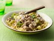 Creamy Turkey Mushroom Stroganoff