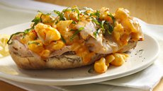 Turkey and Cauliflower Open Faced Sandwiches Recipe