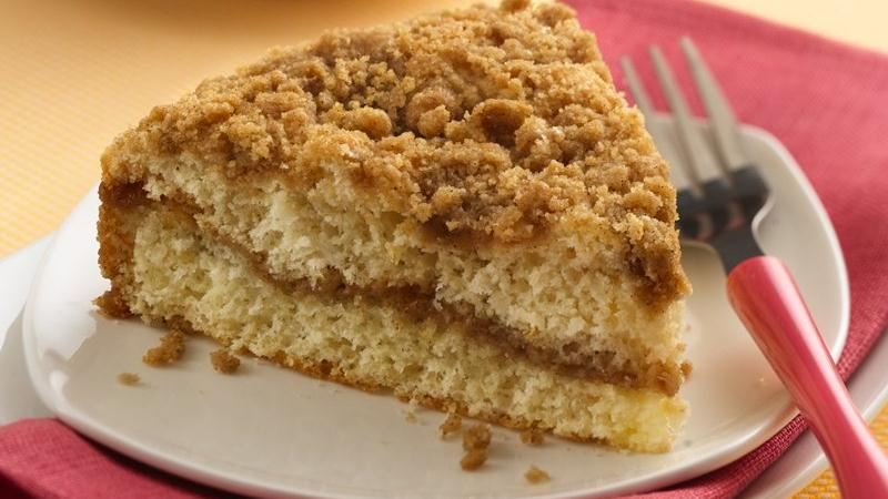 Easy+Cinnamon+Coffee+Cake Double-Streusel Coffee Cake recipe from ...
