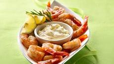 Bayou Shrimp with Lemon-Rosemary Aioli  Recipe