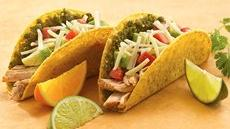 Mexican Pesto-Pork Tacos Recipe