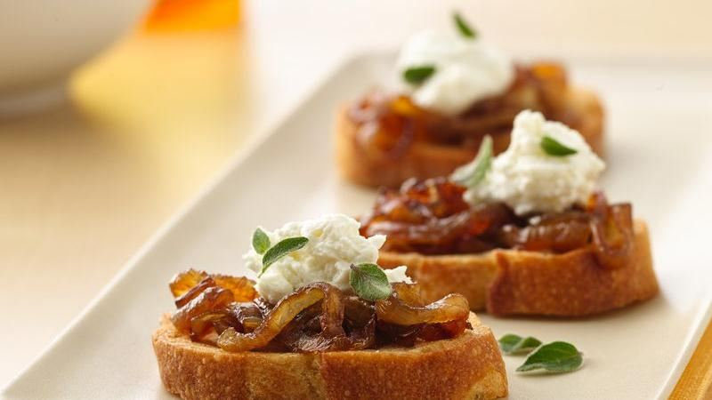 Honey Roasted Carrots With Thyme And Goat Cheese Crostini Recipes ...