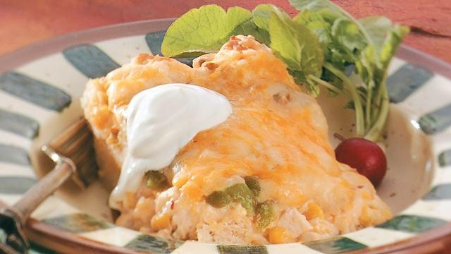 Grands! Chicken-Chile Bake