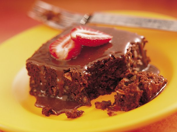 Strawberry-Fudge Brownies