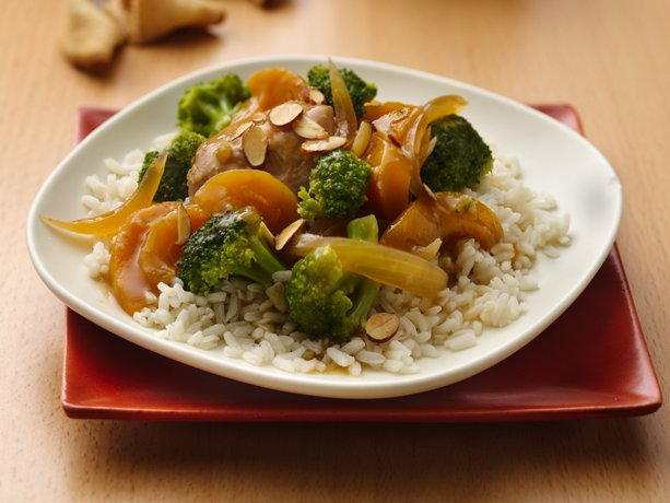 Slow Cooker Gingered Broccoli Chicken