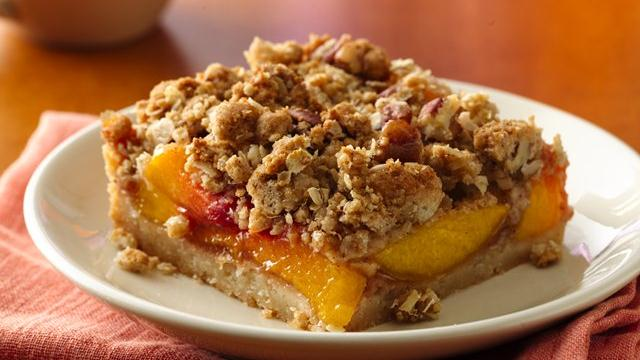 Peach Pie Squares