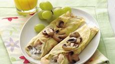 Savory Shrimp Crepes Recipe