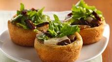 Mushroom-Mozzarella Appetizer Cups Recipe