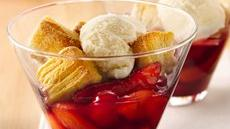 Cherry-Peach Biscuit Cobbler Recipe