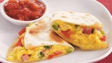 Western Omelet Quesadillas Recipe