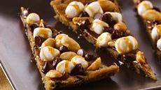 Rocky Road Cookie Pizza (cookie dough tub) Recipe