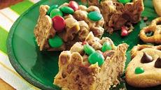 Holiday Chocolate Cereal Bars Recipe