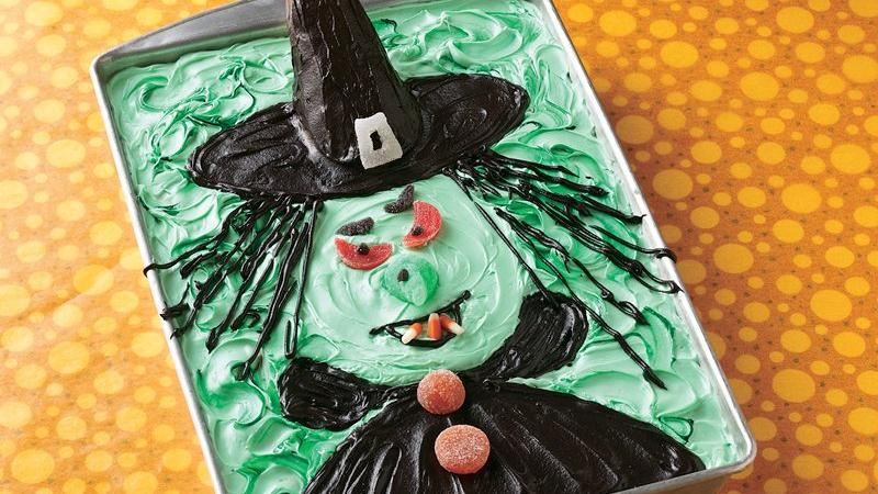 Scary Witch Cake